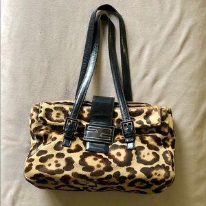 Vintage Fendi Leopard Bag